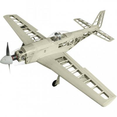 Super Flying Model P-51D Mustang 40 EP Holzbaukasten