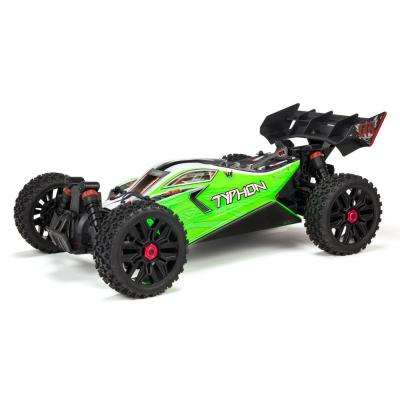 Arrma 1/8 TYPHON MEGA 550 Brushed 4WD Speed Buggy RTR Int, Green (ARA102694I)
