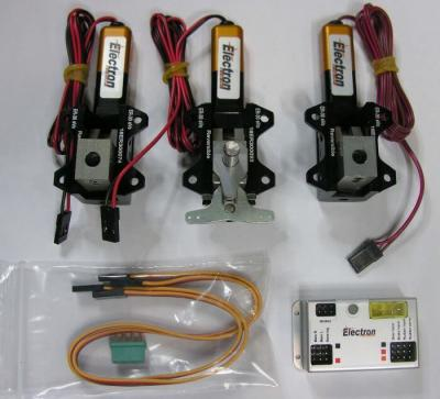 Electron ER-30eVo set B 6mm (steering system)