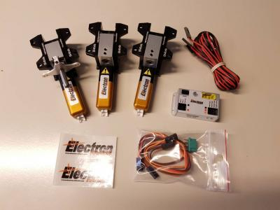 Electron ER-40eVo set B (simple steering system)
