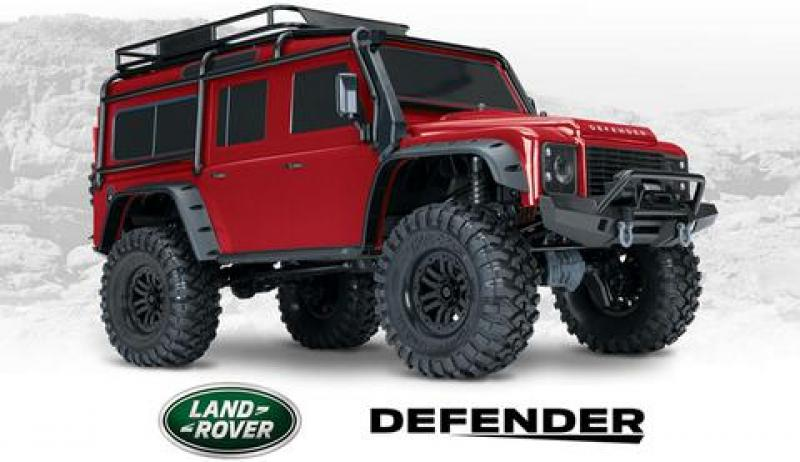 Traxxas TRX4 Land Rover Defender 4x4 RTR
