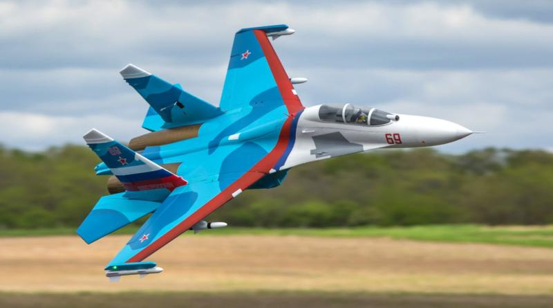 E-flite SU-30 Twin 70mm EDF PNP (EFL01075)