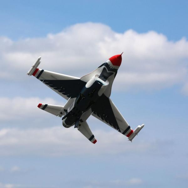 F-16 Thunderbirds 70mm EDF PNP (EFL7875)